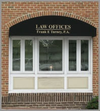 Contact Law Offices of Frank E. Turney, P.A
